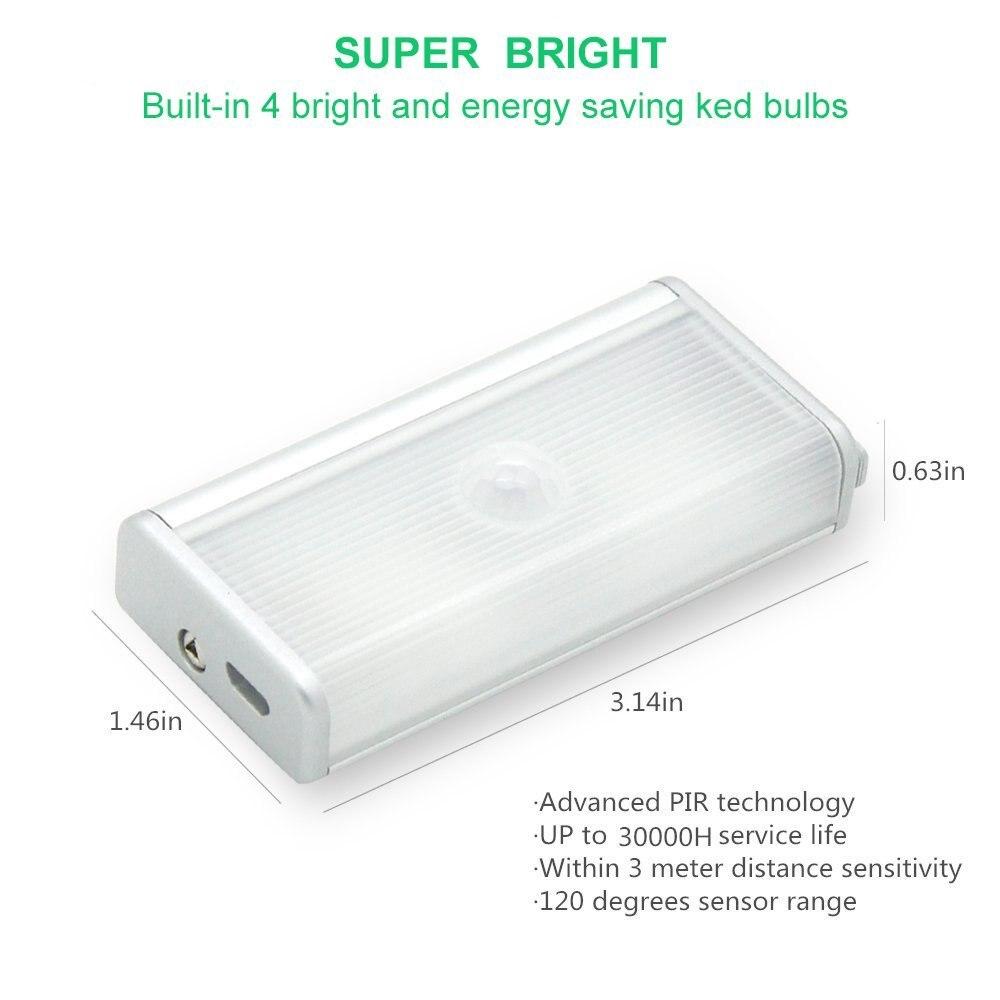 Luzes da Noite sensor detector de movimento sem Tipo : Night Light