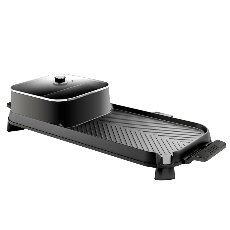 LZW-1702A Electric & Griddle Chafing Dish Barbecue <font><b>Size</b></font>