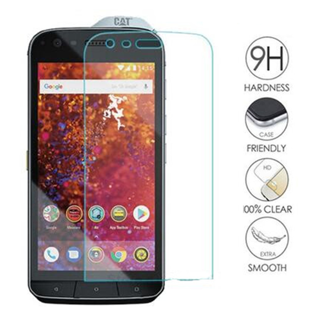 Tempered Glass For Caterpillar <font><b>Cat</b></font> <font><b>S61</b></font> Safety Glass Mobile Phone Film Glass Case For <font><b>Cat</b></font> <font><b>S61</b></font> Screen Protector image
