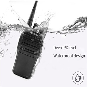 Image 3 - F 3S New Mini Interphone Safety Waterproof 5W Power Supply Security Portable Radio Self driving Travel Office Hotel Interphone