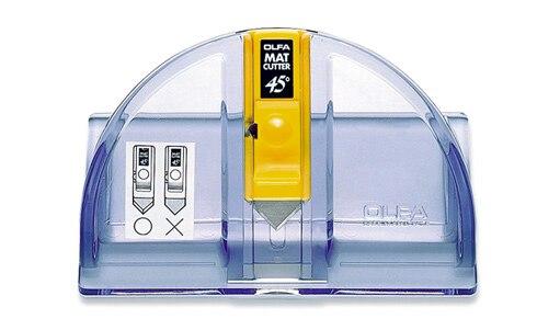 Fabriqué au japon OLFA MC-45 avec 2 lames degrés Oblique Mat Cutter OLFA MCB-1 5 lames