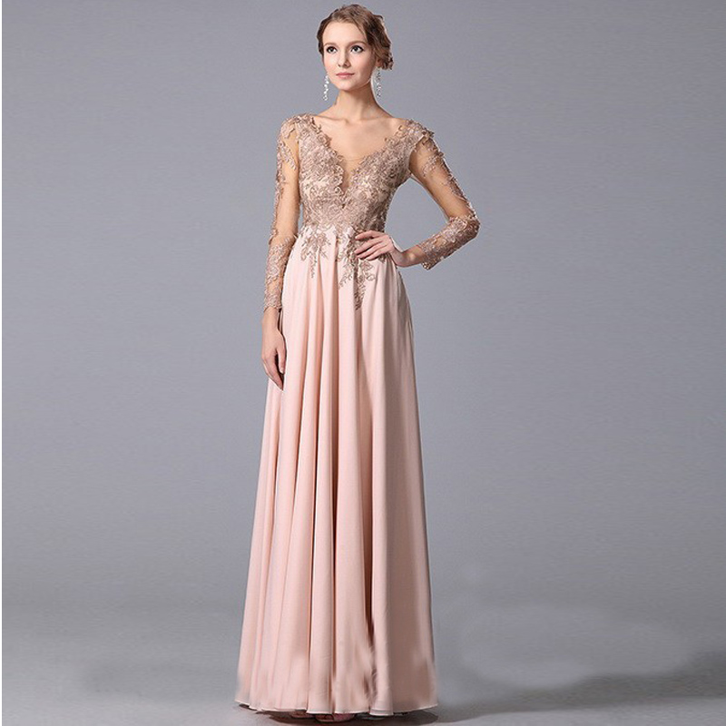 Long Sleeve Bridesmaid Dresses   All Dress