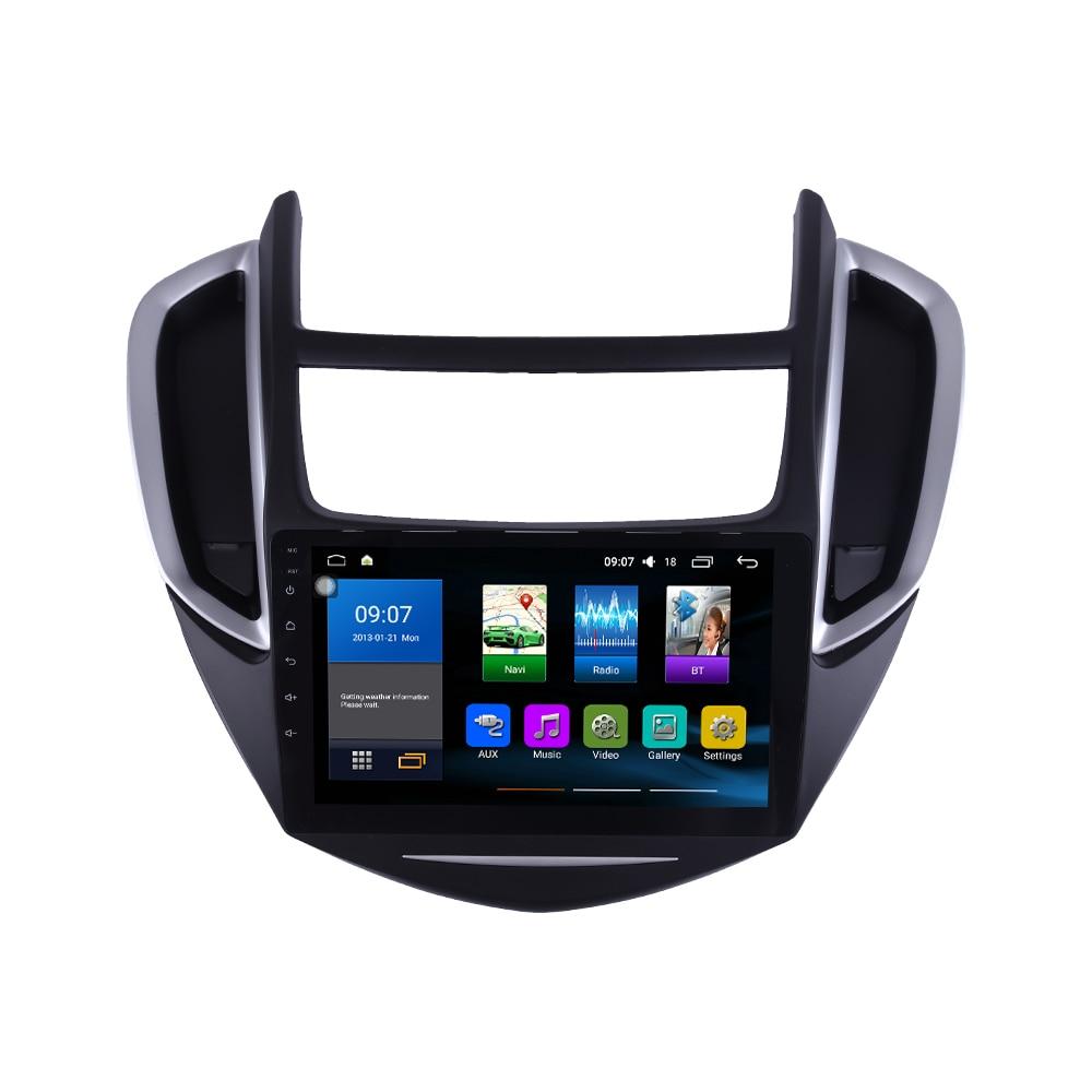 Восьмиядерный 1024*600 Android 8,1 автомобильный DVD GPS навигационный плеер Deckless автомобильный стерео для Chevrolet TRAX 2014-2016 радио головное устройство