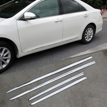 Боковое зеркало автомобиля декоративные Тюнинг автомобилей Обложки украшение protecter яркими блестками 12 13 14 15 16 для Toyota Camry