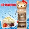 1 шт. Высококачественная Автоматическая электрическая Коммерческая Милая домашняя машина для льда большой емкости 220 В 150 Вт 90 кг/ч