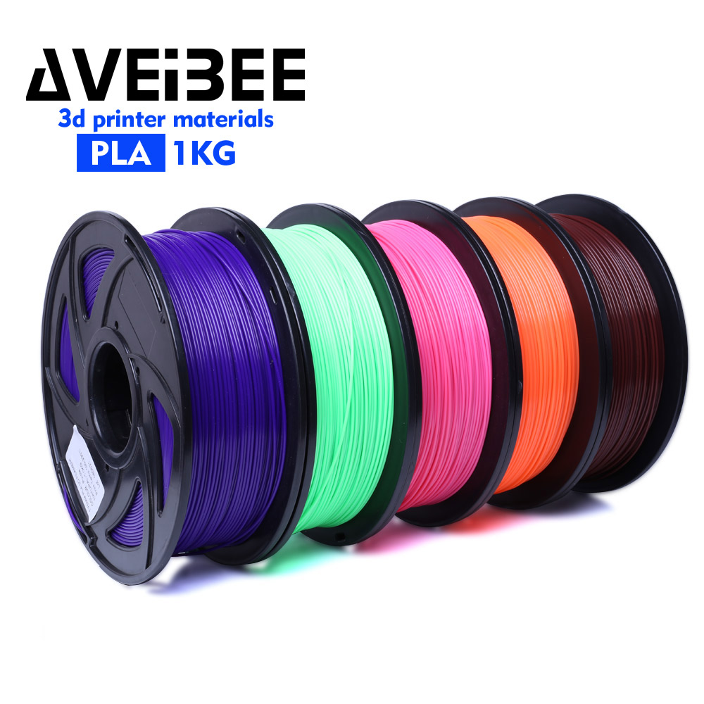 3D Printer Filament 1.75 1KG PLA Wood TPU PetG PP PC Metal Plastic Filament Materials for RepRap 3D Printer Pen 27 Color Option купить в Москве 2019