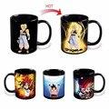 Подлинная Dragon Ball Z Вегета Изменение Кружка Кофе термочувствительных Реактивной Керамическая Чашка Кружка Рождественский Подарок
