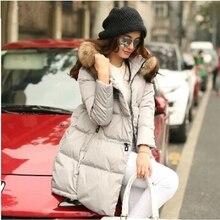 Новинка, зимнее женское пальто, европейский стиль, свободные парки, Mujer, повседневное пуховое пальто, Длинная Верхняя одежда с капюшоном, куртки, 5 цветов, A0377