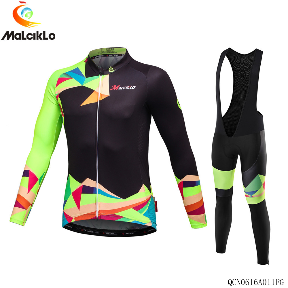 ФОТО Malciklo cycling Jersey Men Cycling Clothing Winter Thermal Long sleeve Cycling Jersey Fleece maillot ropa ciclismo winter set