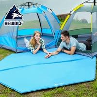 Hewolf 248x208 см шестигранный Автоматический Надувной Мат Открытый Кемпинг надувной матрас для палатки Водонепроницаемый Туризм Путешествия От