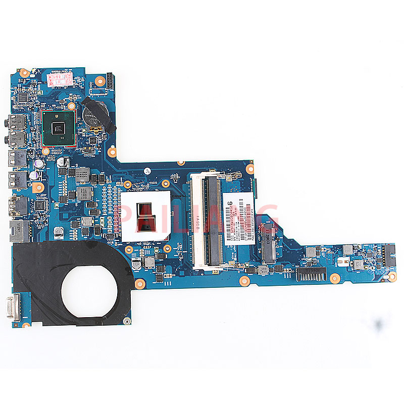 Laptop <font><b>motherboard</b></font> for <font><b>HP</b></font> <font><b>Pavilion</b></font> <font><b>G6</b></font>-1000 <font><b>G6</b></font>-1B79DX I3-370M PC Mainboard 653087-001 6050A2450801 full tesed DDR3 image