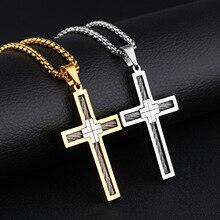 Neck Drop Korean Steel Titanium Necklace Simple Hanging Original Mens Jewelry