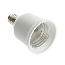 1pcs E12 om E27 Socket Light Bulb Lamp Holder Adapter Plug Extender Lampholder Nieuwste Hot Zoeken(China)