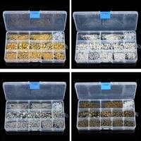 580 Resultados de La Joyería Kit unids/caja Langostas Broche Jump Anillos para La Joyería de DIY Que Hace