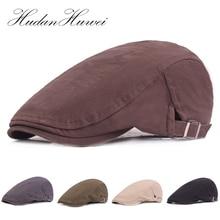 Fashion Unisex Cotton Ivy Newsboy Hunting Hat Driving Flat Cabbie Caps Men Women Travel Sunshade Hats Retro Forward Hat