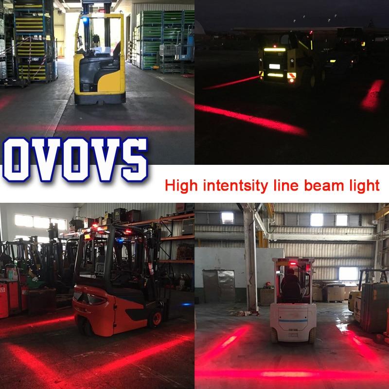 Forklift Safety Light 5.8 Inch 27W LED Security Indicator