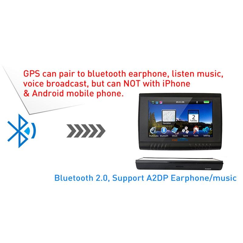 Fodsports 5.0 düymlük Motosiklet GPS Naviqasiya 256MB 8GB Sensorlu - Avtomobil elektronikası - Fotoqrafiya 3
