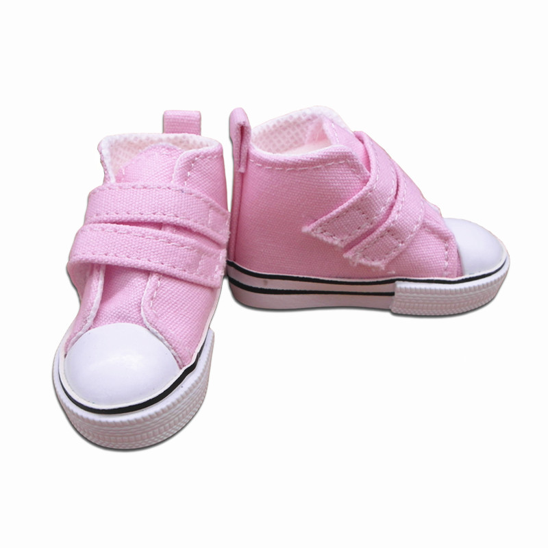 Tilda 7.5cm Canvas Doll Shoes for 1/3 Scale Dolls,Textile Fashion Lovely BJD Doll Boots Quality Accessories for BJD Sneakers exclusive handsome martin boots for bjd 1 3 sd10 sd13 sd17 uncle ssdf id ip eid big foot doll shoes sm9