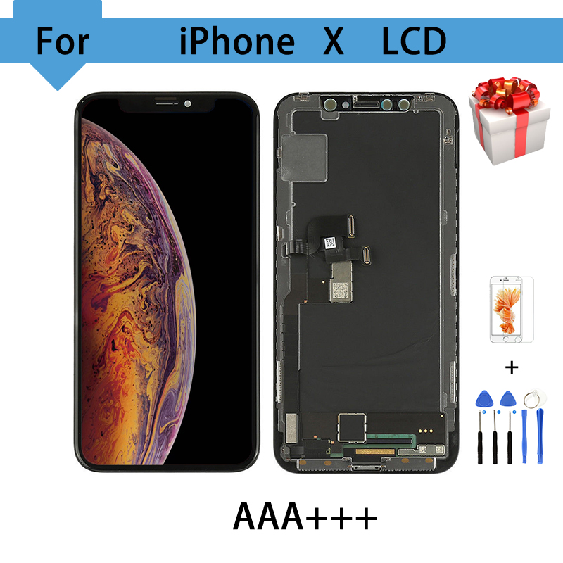 """5.8"""" AMOLED For iPhone X LCD Display Touch Screen Free Tools Digitizer Assembly Replacement Tianma TFT For iPhone X LCD-in Mobile Phone LCD Screens from Cellphones & Telecommunications    1"""