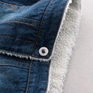 Image 5 - Dimusi zimowa kurtka dżinsowa chłopcy dżinsy kurtki Retro dodatkowo pogrubiony aksamitna kurtka dżinsowa dzieci taktyczne ciepłe wiatrówki płaszcze dżinsowe