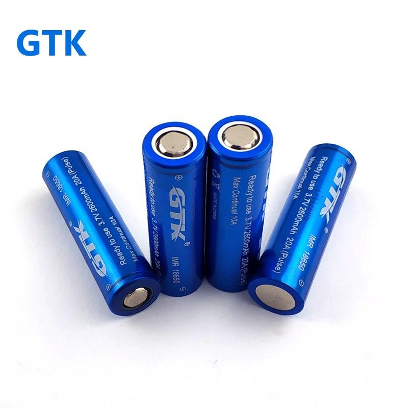 Aliexpress Com Buy Gtk 10pcs 18650 3 7v Li Ion Battery