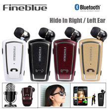 Fineblue F-V3 Business Wireless Bluetooth 4.0 Built-in Microphone in-ear Earphone Waterproof For all Bluetooth Enable Device(China)