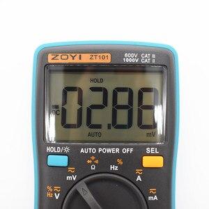 Image 4 - ZT101 ZT102 ZT102A Digital Multimeter DC AC Spannung Strom Widerstand Diode Kapazität Temperatur Tester Digital Multimeter
