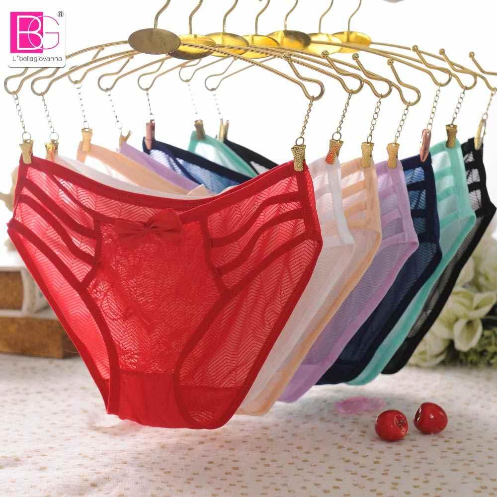 93edba7940 ... L bellagiovanna mujeres jóvenes Sexy bragas Bikini Lencería lolita  adolescentes encaje bragas ropa interior pequeña ...