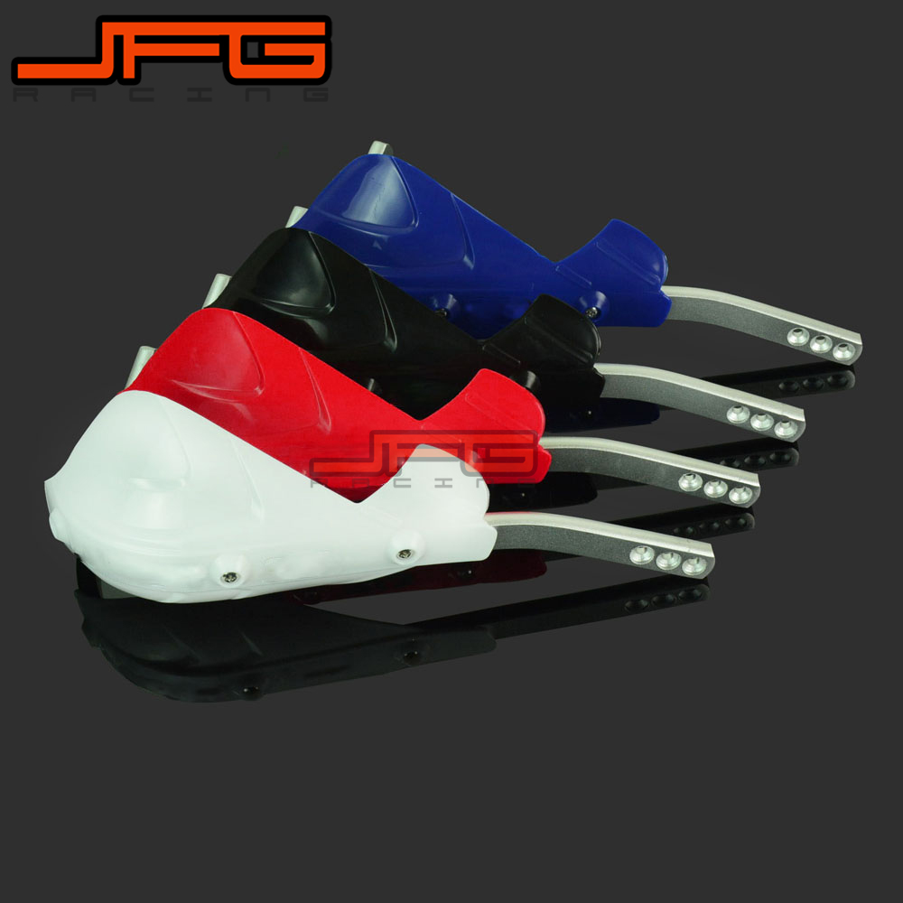 Handlebar Hand Guards Handguard Protection 22mm Alloy Insert Black Pit Dirt Bike Motocross Enduro Supermoto Racing
