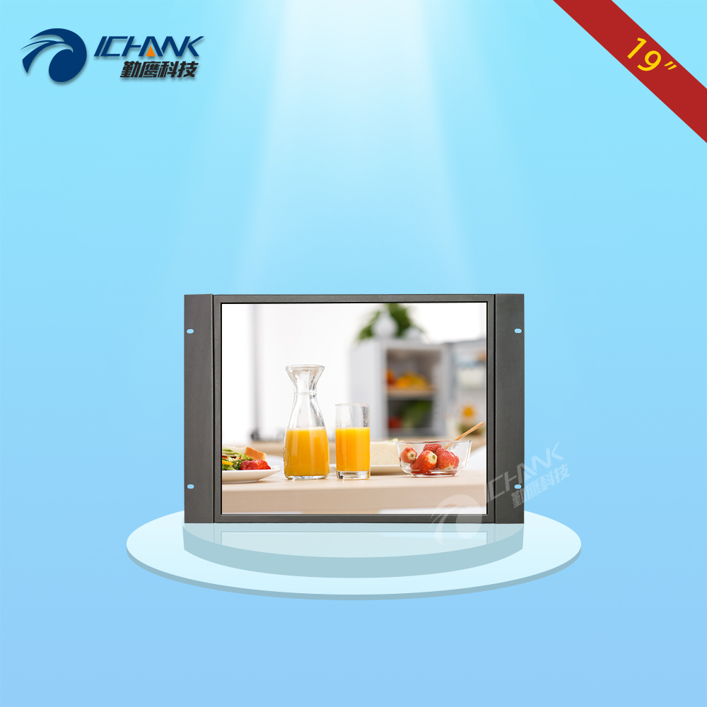 ZK190TN-V591/19 inch 1280x1024 BNC HDMI HD Metal Case Embedded Open Frame Wall-mounted Remote Control Monitor LCD Screen Display zk150tn dv 15 inch 1024x768 4 3 hd metal case open frame