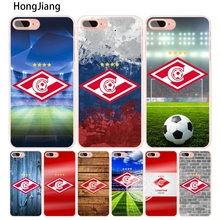 HongJiang spartak moscow football cell phone Cover case for iphone 4 4s 5 5s SE 5c 6 6s 7 8 X plus(China)
