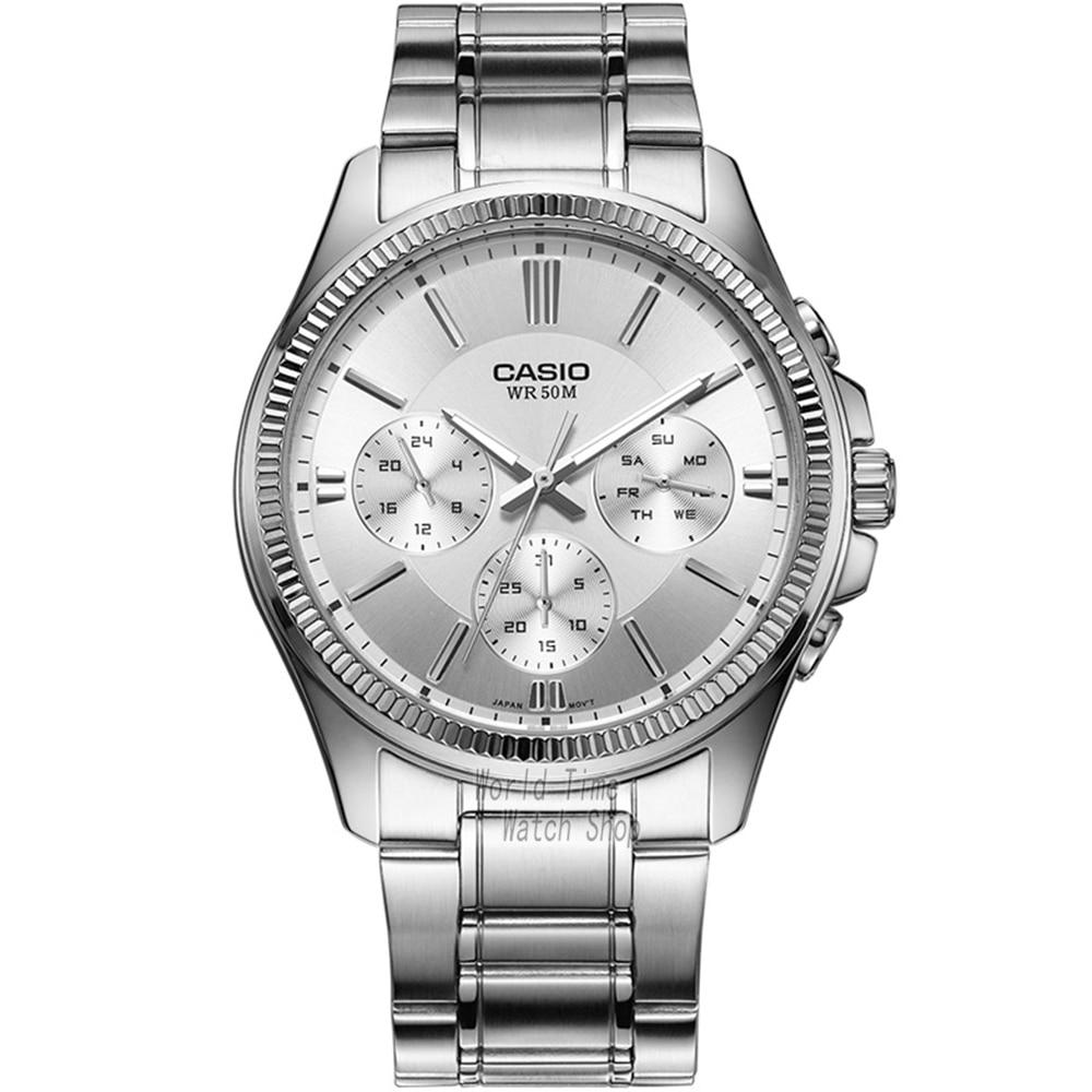 цена  Casio watch Fashion simple quartz watch  MTP-1375L-1A MTP-1375L-7A MTP-1375D-7A MTP-1375D-7A2 MTP-1375L-9A MTP-1375SG-1A  онлайн в 2017 году