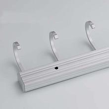 Space Aluminum Kitchen Bathroom Hook Removable Hooks Kitchen Utensil Tools Hook Rack Holder Wall-mounted Storage Organizer E