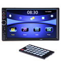 2 DIN Car Radio Player 7'HD Bluetooth Rear View Stereo FM MP3 MP5 Multimedia Video Audio USB AUX Auto Electronics Autoradio 2din