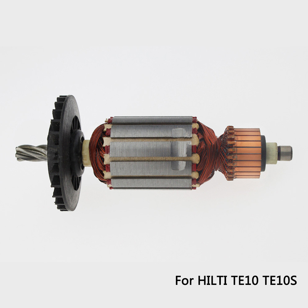 купить Free shipping! AC 220V 5 Teeth Drive Shaft Electric Hammer Armature Rotor for HILTI TE10 TE-10 TE-10S TE10S, High quality ! по цене 2188.84 рублей