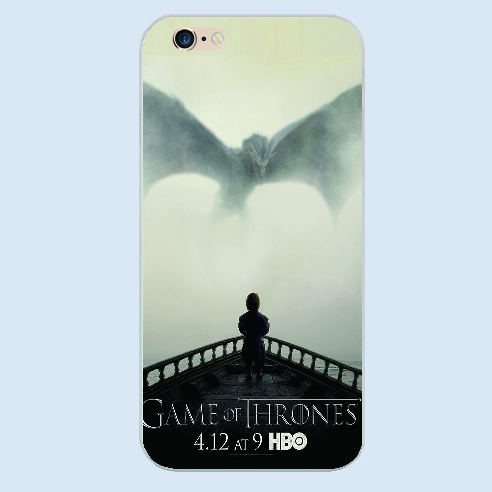 Game of Thrones all men must die Quote Poster phone cover plastic case For iphone 4 4s 5 5c 5s 6 6s plus hard shell