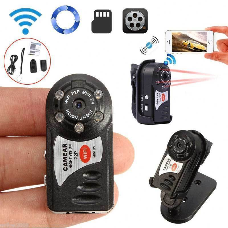 16G Card+Q7 Wireless WIFI Camera Mini P2P Video Recorder DVR Night Vision16G Card+Q7 Wireless WIFI Camera Mini P2P Video Recorder DVR Night Vision