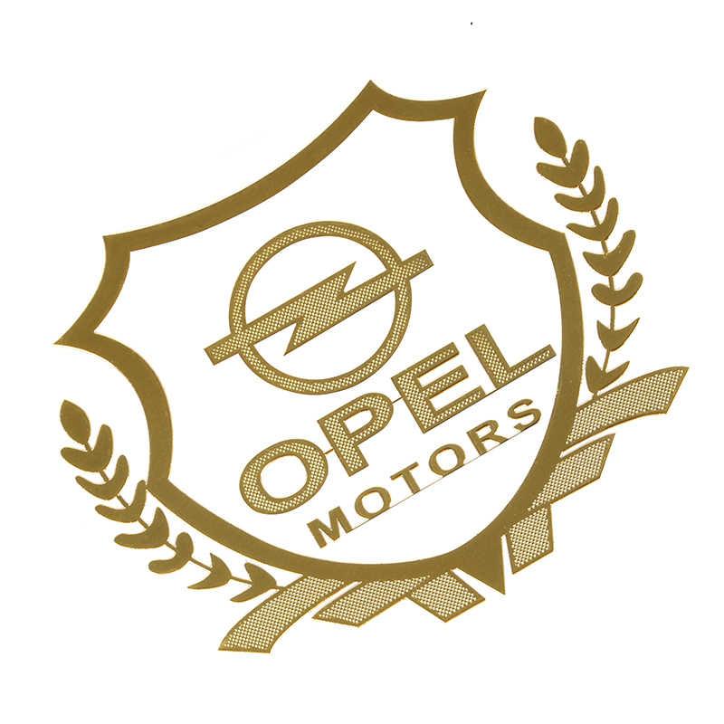 2 pièces or/argent Excellent 3D moteurs métal voiture autocollant emblème Badge pour Opel Zafira a b Astra h g j k f Mokka Corsa b c d Vectr