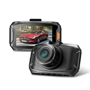 H.264 Auto Recorder Camera GPS Positioning Car DVR Camera Mirror G-Sensor Driving Recorder HD LCD Screen Car Recorder Camera
