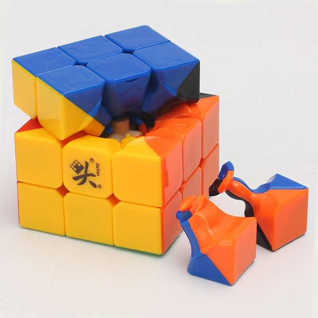 Promo Cheapest Magic Cube puzzle Dayan Guhong 2 V2 57mm 3x3x3 Cubing Speed  Puzzle Cubo Magico Kids Educational Toys 5