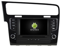 NAVIRIDER Eight Core 4GB RAM Android 6.0.1 car multimedia player for VW GOLF 7 2013-2015 car dvd gps BT radio stereo USB