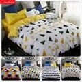 Набор постельного белья с геометрическим рисунком «Король-королева»  набор постельного белья из трех предметов  1 5 м  1 8 м  2 м
