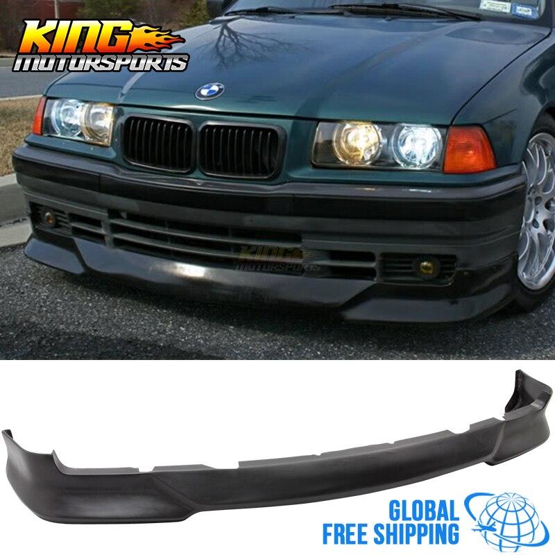 На 92 98 BMW E36 3 серии м Tech Стиль переднего бампера для губ поли уретан Глобальный Бесплатная доставка по всему миру