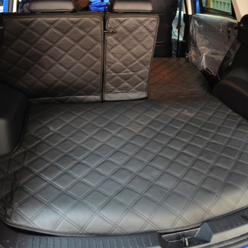 ФОТО car trunk mats + back pad for Mazda CX-5 CX-5 Imported overall after the warehouse pad folded rugs