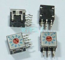 Interruptor de dial giratorio 8421C de 0 a 9/10 bits(China)