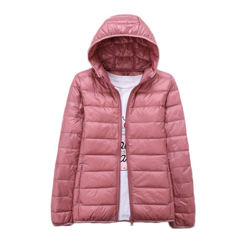 WSYORE Short   Down   Jacket 2018 New Winter Hooded Ultra Light   Down   Jacket Thin Winter Women Jacket Duck   Down     Coat   Jacket NS785