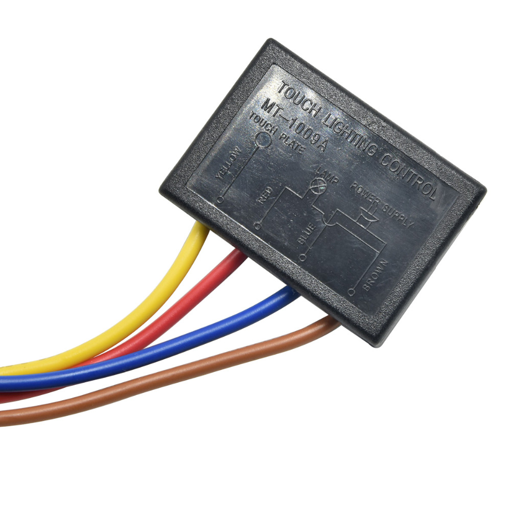Us 24 96 3pcs Lamp Touch Switch On Off Sensor Table Lightning Protection And Interference Dimmer Free Shipping In Switches