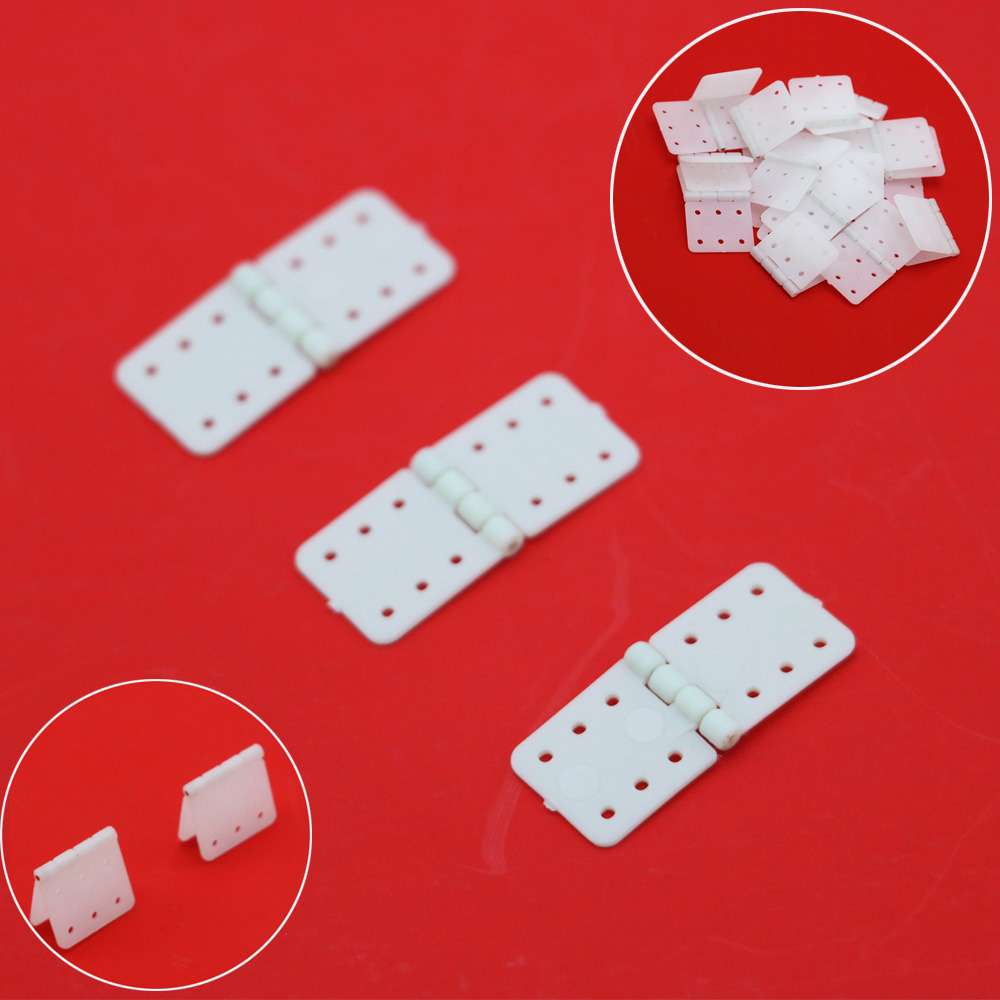 100pcs/lot Nylon Plane Hinge For RC Airplane 20x36mm / 16x29mm / 12x24mm