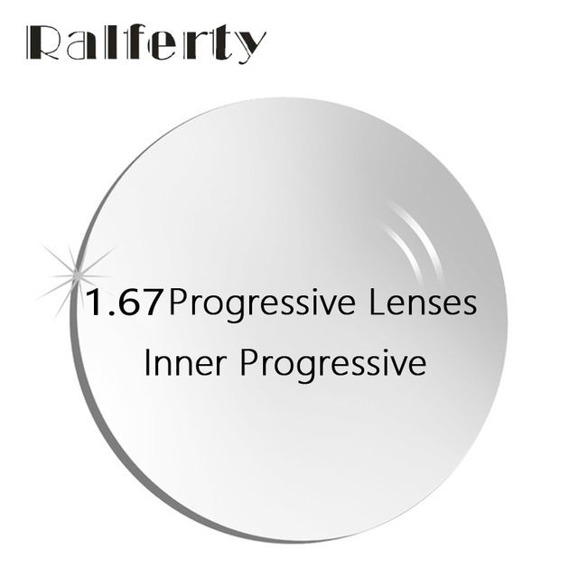 f697b57a27b4 1.67 Inner Prescription Progressive Lenses Free Form Multifocal Lens for  Near Far Sight Myopia Hyperopia Corrective Optic Lenses