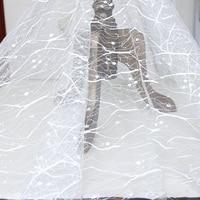 Кружево вышивка Ткань свадебные аксессуары для одежды Свадебные Кружево Ткань с Блёстки